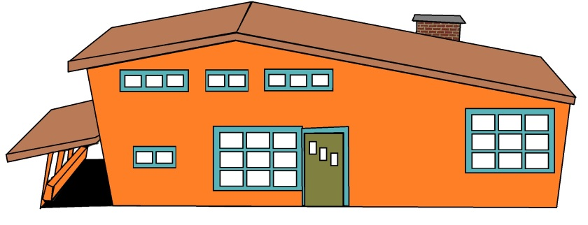 Color scheme ideas for my house. Illustration created by Holly Tierney-Bedord. All rights reserved.