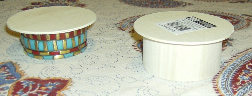 All you need to make a Jonathan Adler inspired mini coffee table