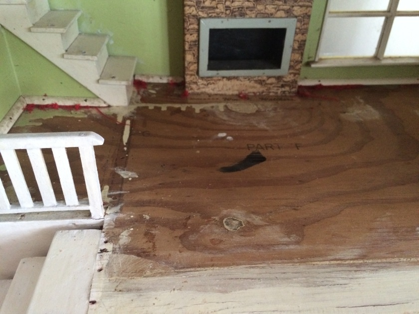 Baseboard trim. Photo by Holly Tierney-Bedord. All rights reserved.
