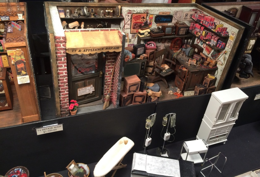 Imagination capturing scenes from Wright Guide Miniatures.