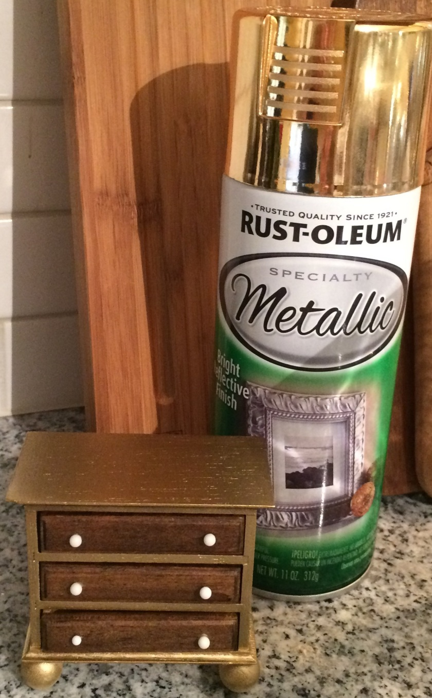 Rust-Oleum Specialty Metallic: LOVE.
